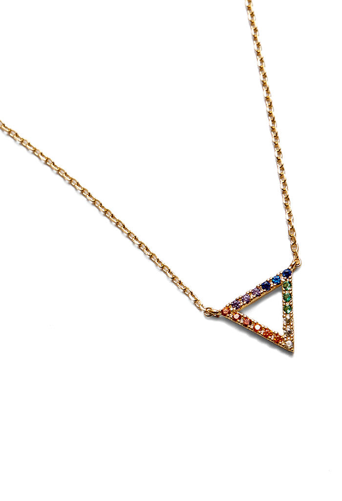 Rainbow Baby Angle Necklace