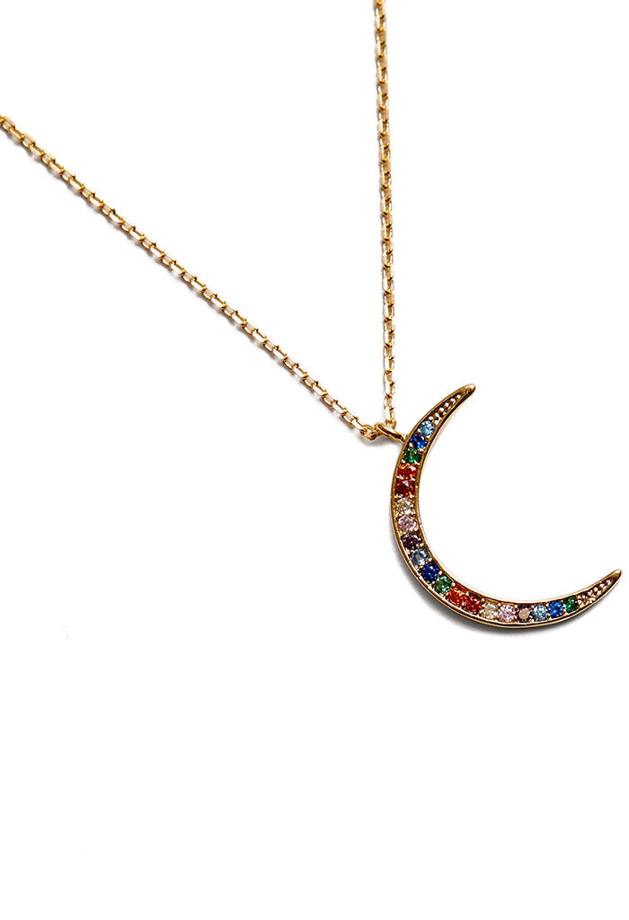 Rainbow Moondust Necklace