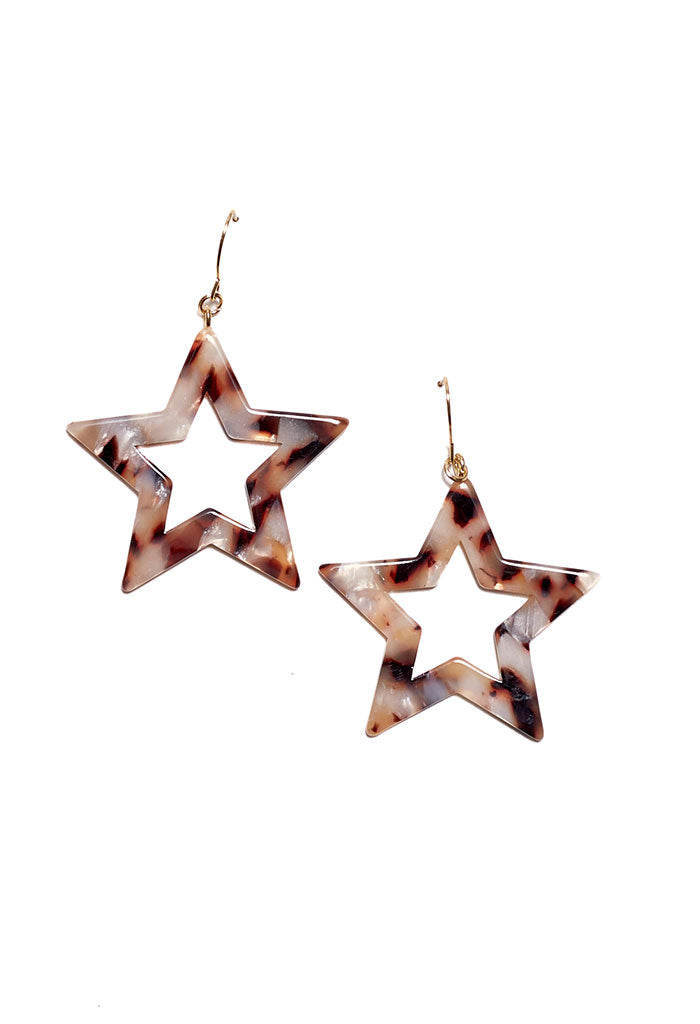 Natural Starlight Earrings
