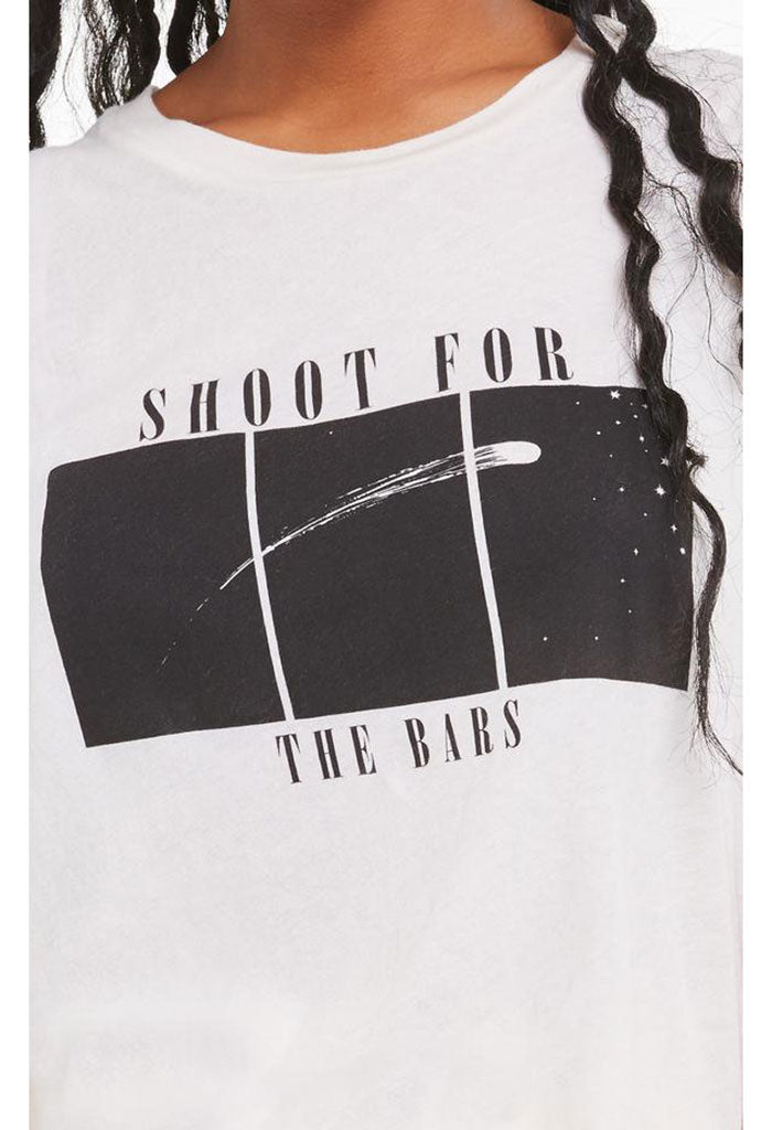 Shoot For the Bars Vintage Muscle Tank