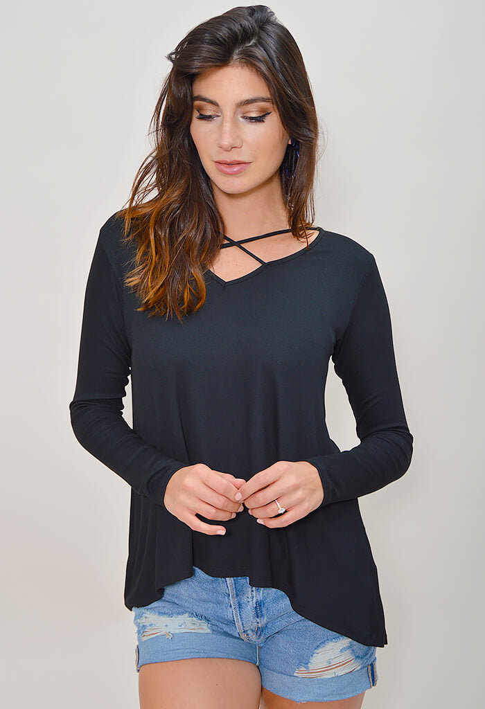 Apple Jax Top - Black