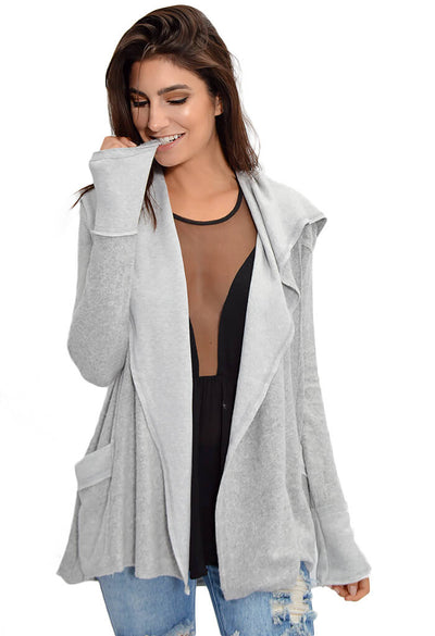 Cuddle Cardigan - Grey