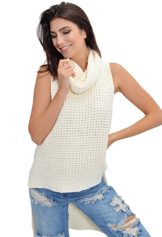 Skyscraper Sweater - Ivory