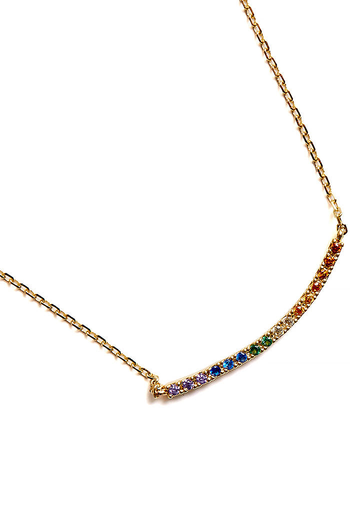 Rainbow Way Necklace