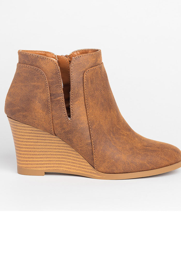 Orna Camel Booties