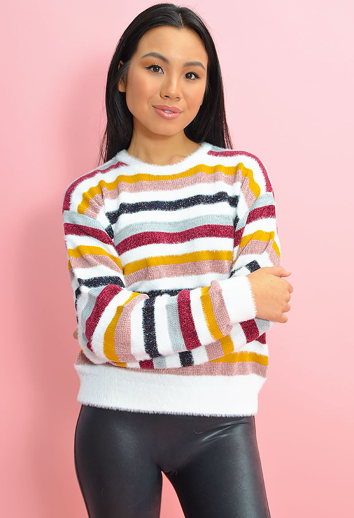 Rach Stripe Sweater