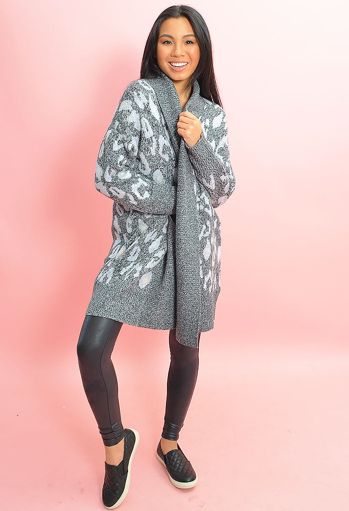 Molly Leopard Cardigan