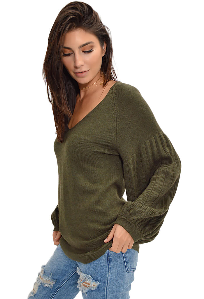 Blouse Sleeve Pullover