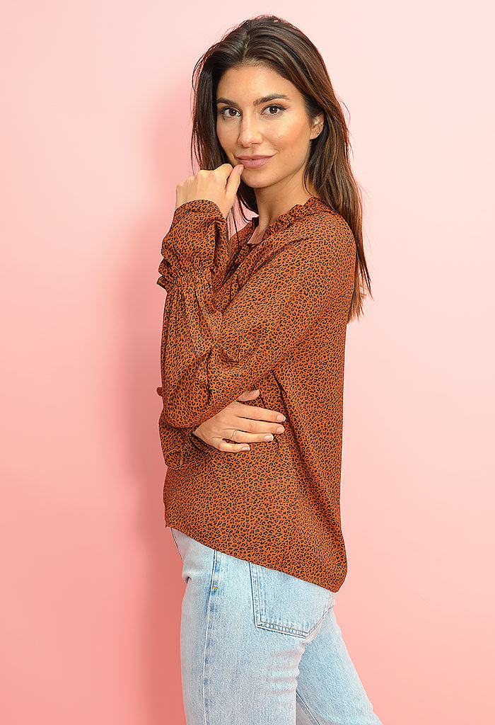 Wild Cat Blouse