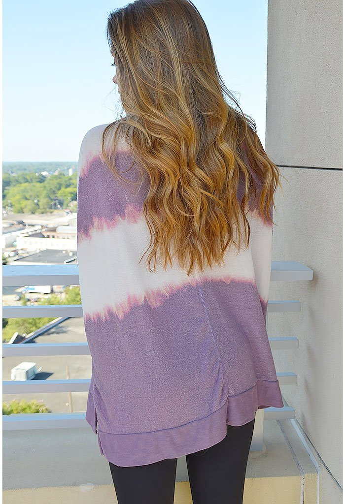 Cotton Candy Cuddle Pullover