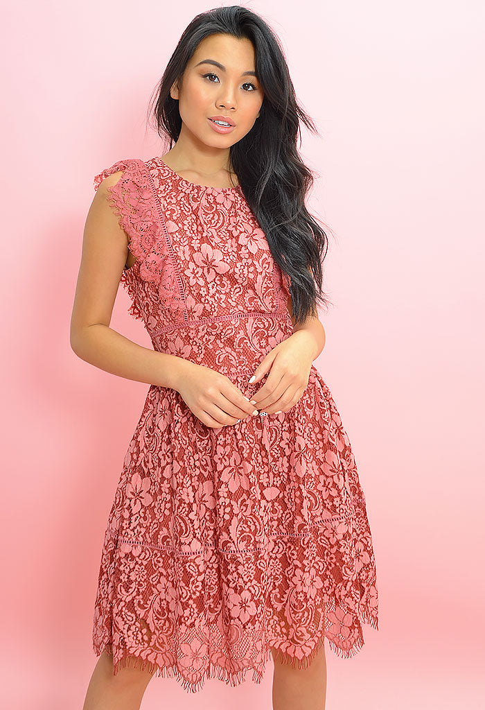 Alisa Fit & Flare Dress