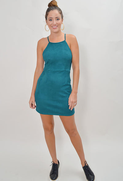 Holly Dress - Sea Green