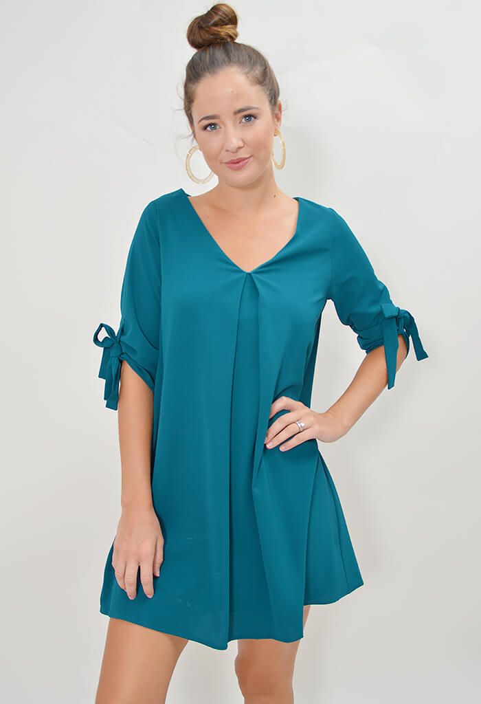 Work to Play Dress - Sea Green