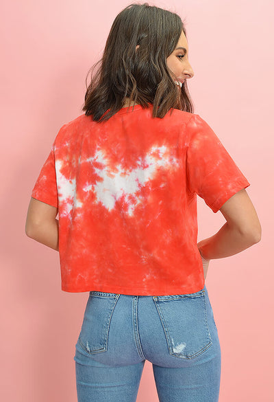 Julie Tee in Red Tie Dye from Buddy Love