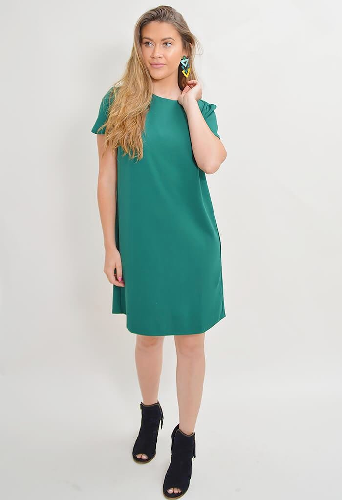 London Dress - Green