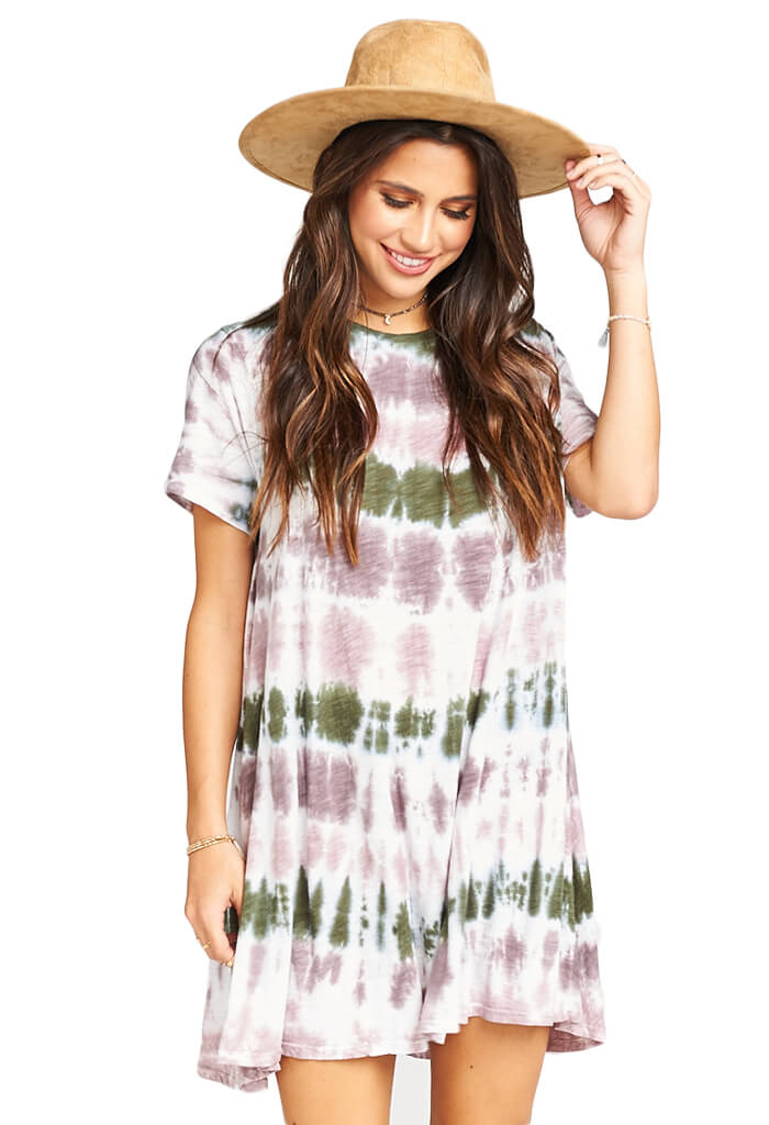Show Me Your Mumu Gant Flow Tunic - Jane of the Gemstone Tie Dye