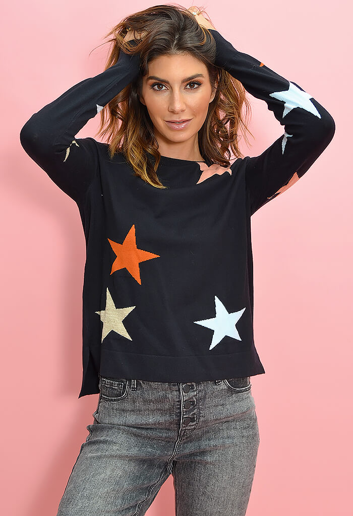 THML Midnight Twinkle Sweater-front