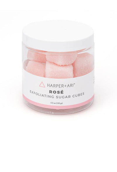 Rosé Exfoliating Sugar Cubes-5.3 oz