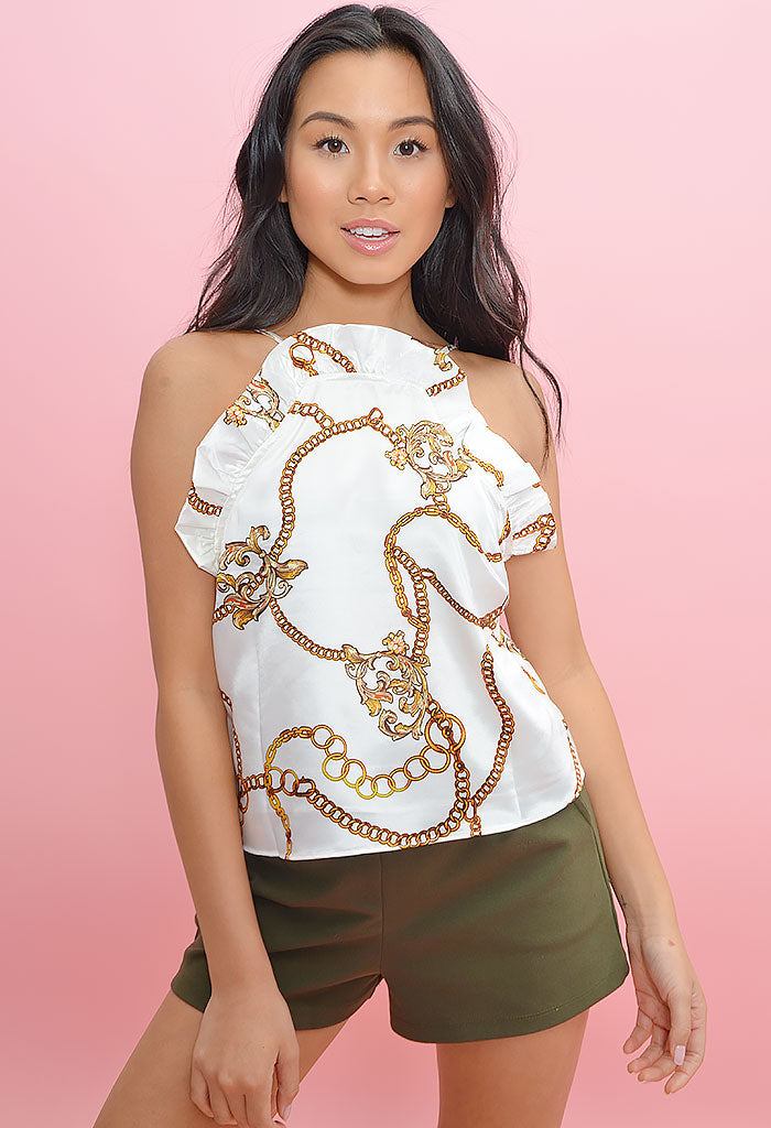 Jacobs Ivory Chains Top