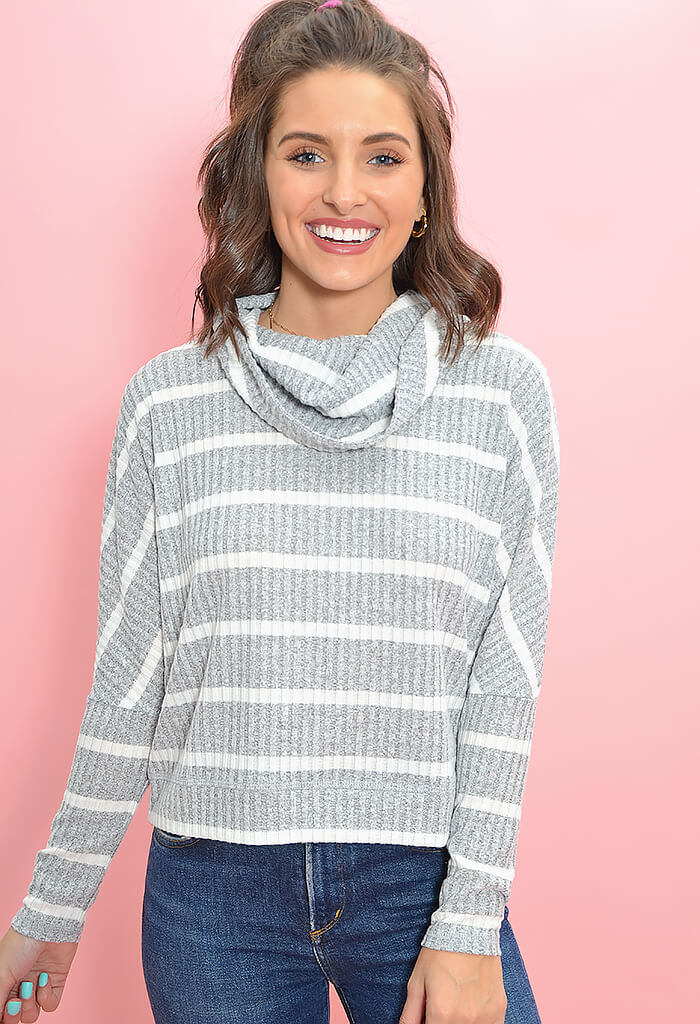 GET USED TO KNIT SWEATER-IVORY