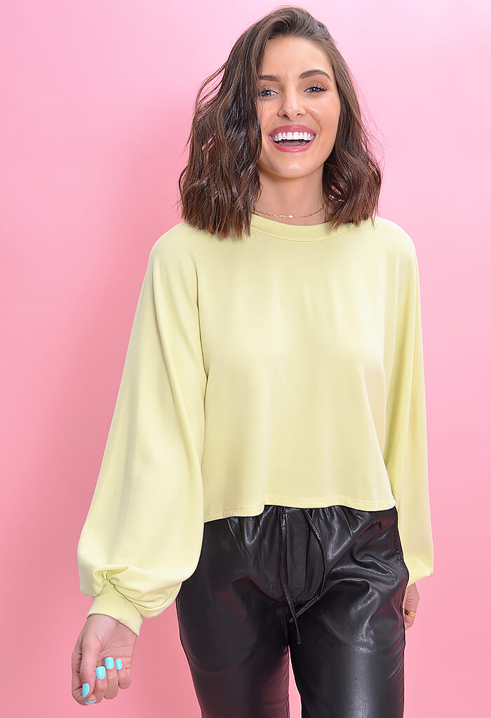 LEMON DROP SWEATSHIRT