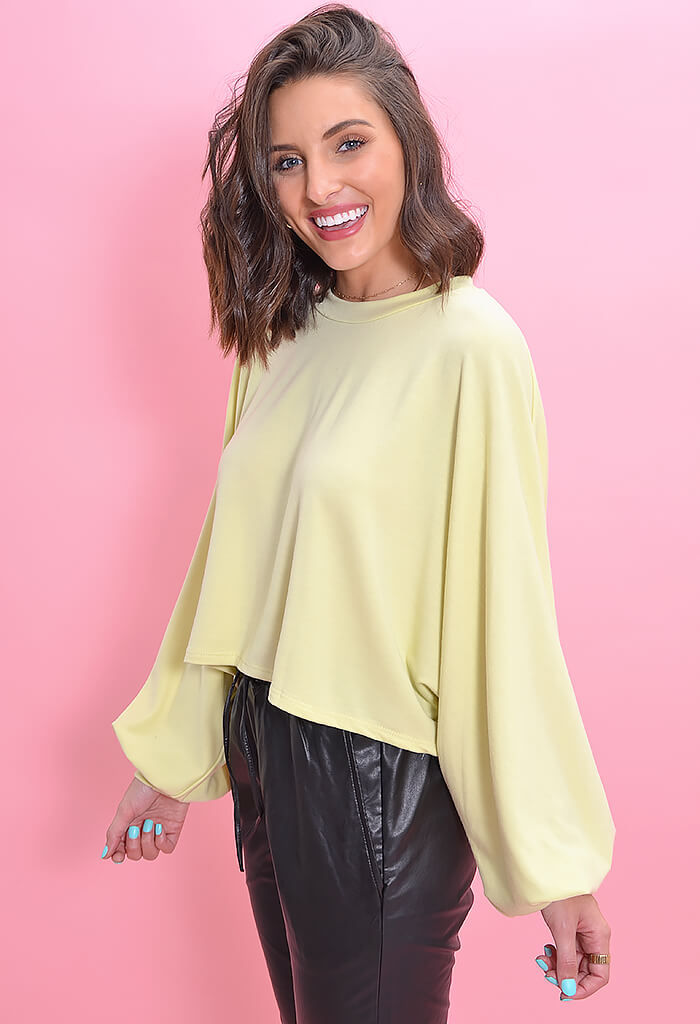 KK Bloom Boutique Lemon Drop Sweatshirt-front