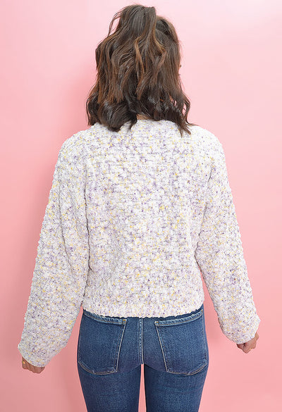 BB Dakota Outlook Hazy Sweater in Ivory-back
