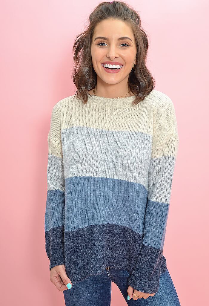 BB Dakota Ocean Drive Sweater-front
