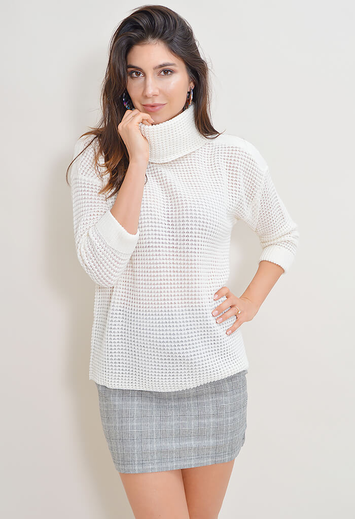 Catchin Feels Sweater - Ivory