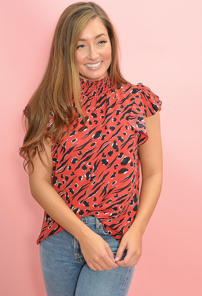 THML Lisa Blouse-front