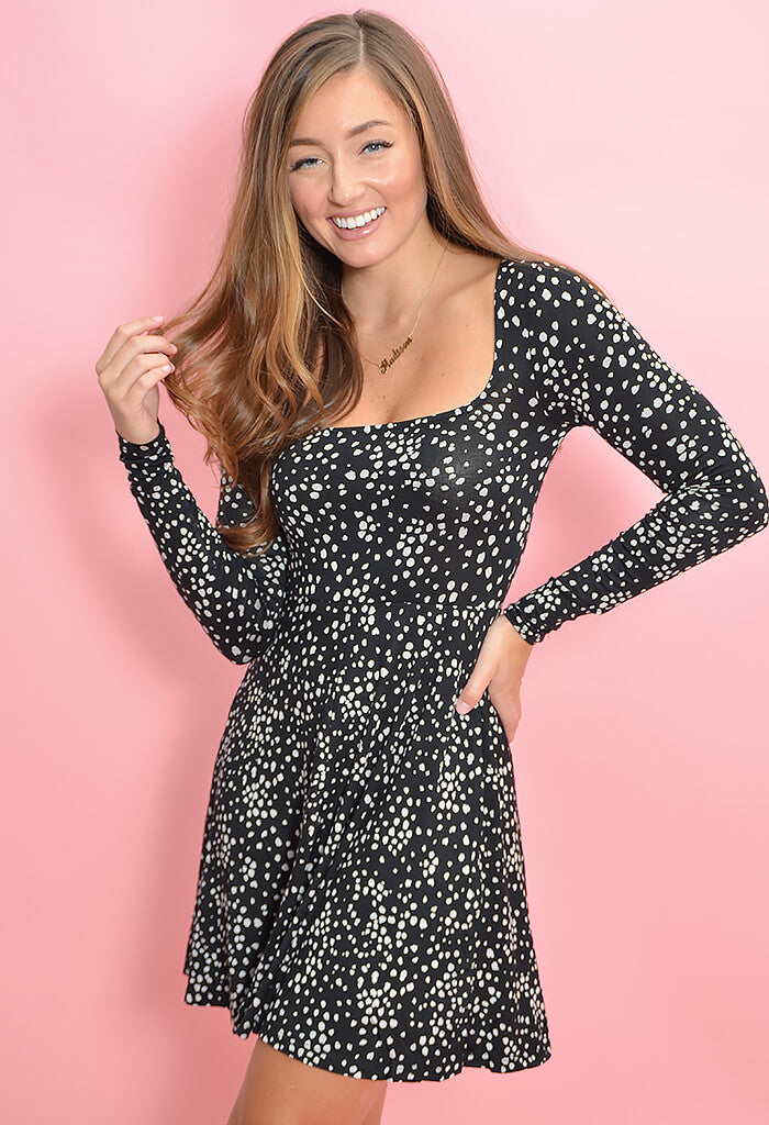 Z Supply Emmy Dot Dress-front
