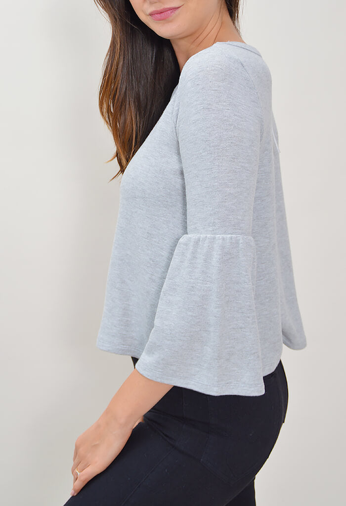 Lilith Bell Sleeve Top