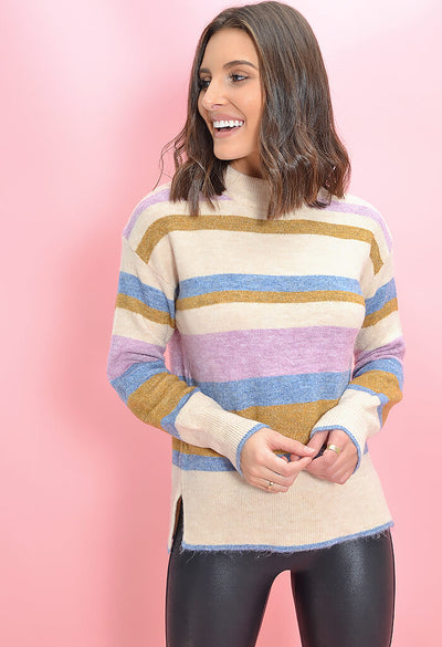 Heartloom Striped Charina Sweater-front