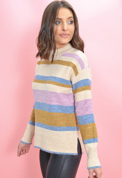 Heartloom Striped Charina Sweater-side