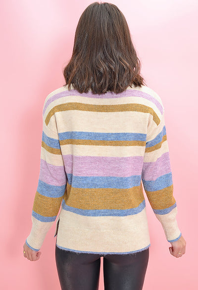 Heartloom Striped Charina Sweater-back