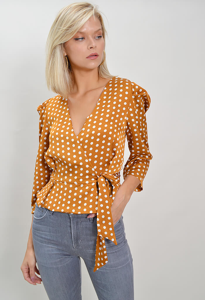 Aries Wrap Top