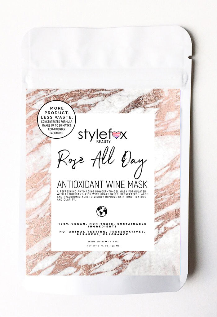Rosé All Day Antioxidant Wine Mask