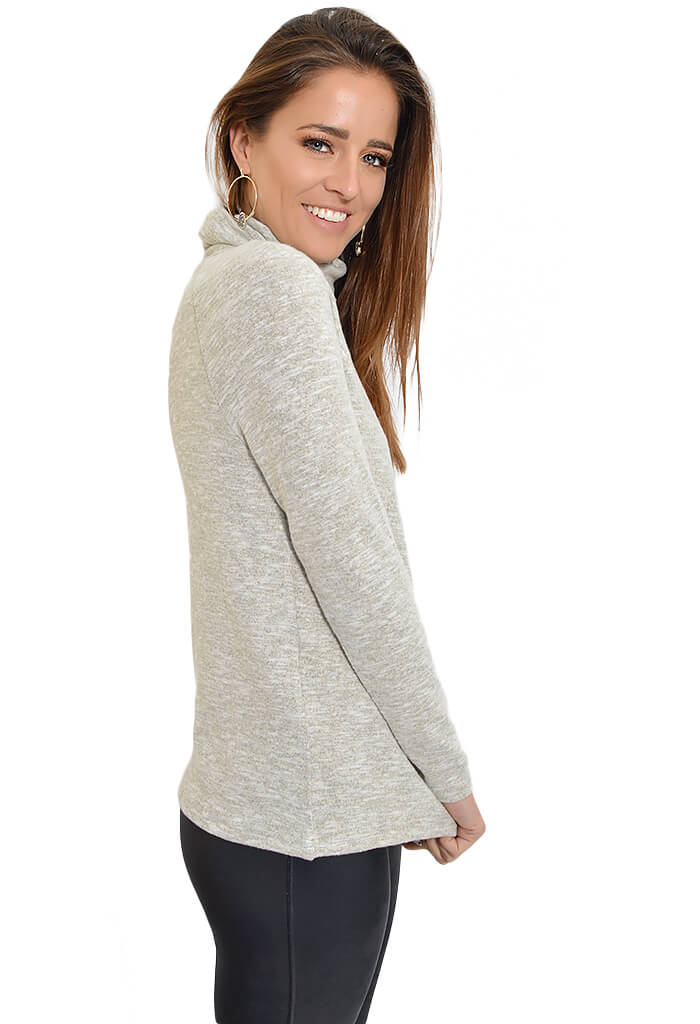 Heathered Feather Sweater