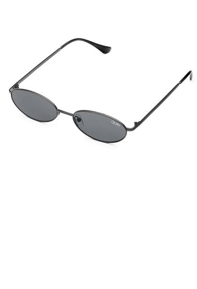 Clout Sunglasses-Black/Smoke Lens