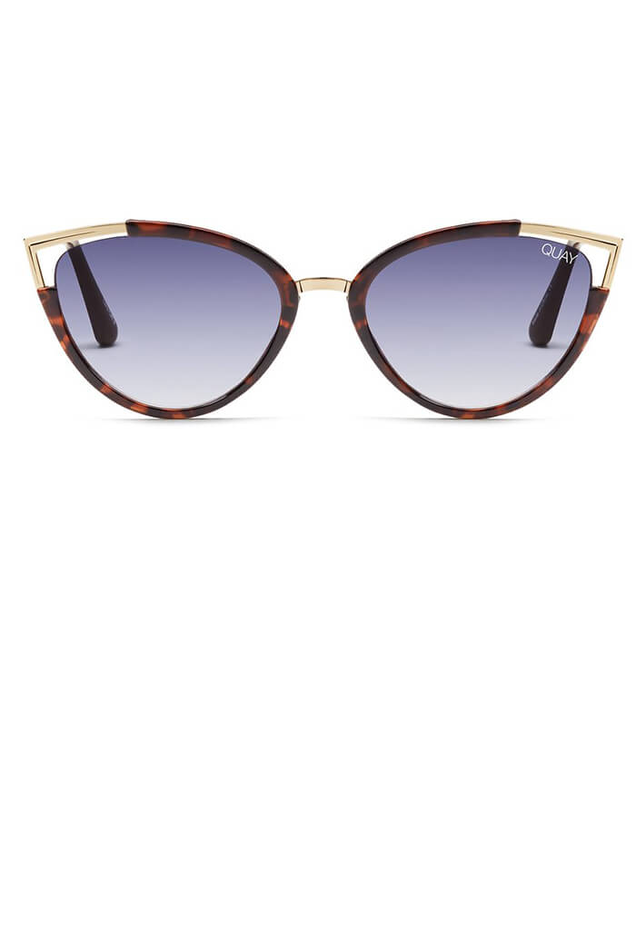 30d398a421 Hearsay Sunglasses-Tort Navy Lens - KK Bloom Boutique