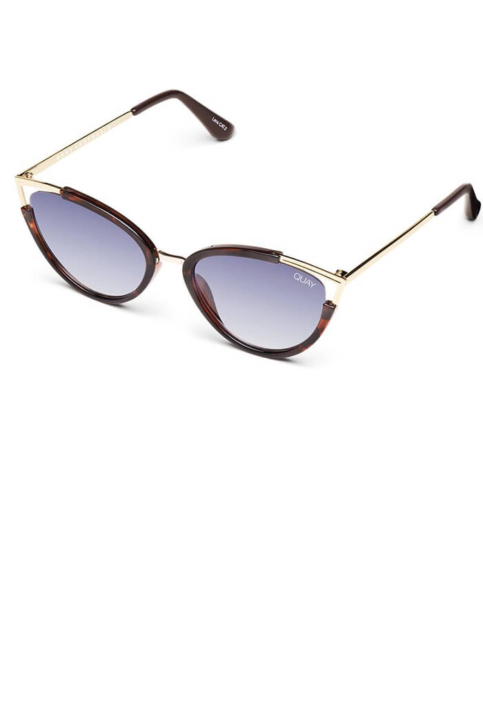 Hearsay Sunglasses-Tort/Navy Lens