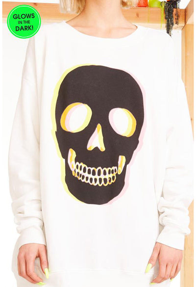 Glow Skull Roadtrip Sweatshirt