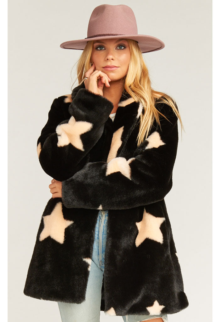 Colorado Jacket-Starry Daze Faux Fur