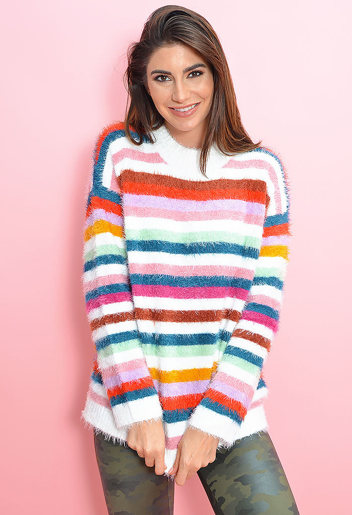 Debby Stripe Sweater