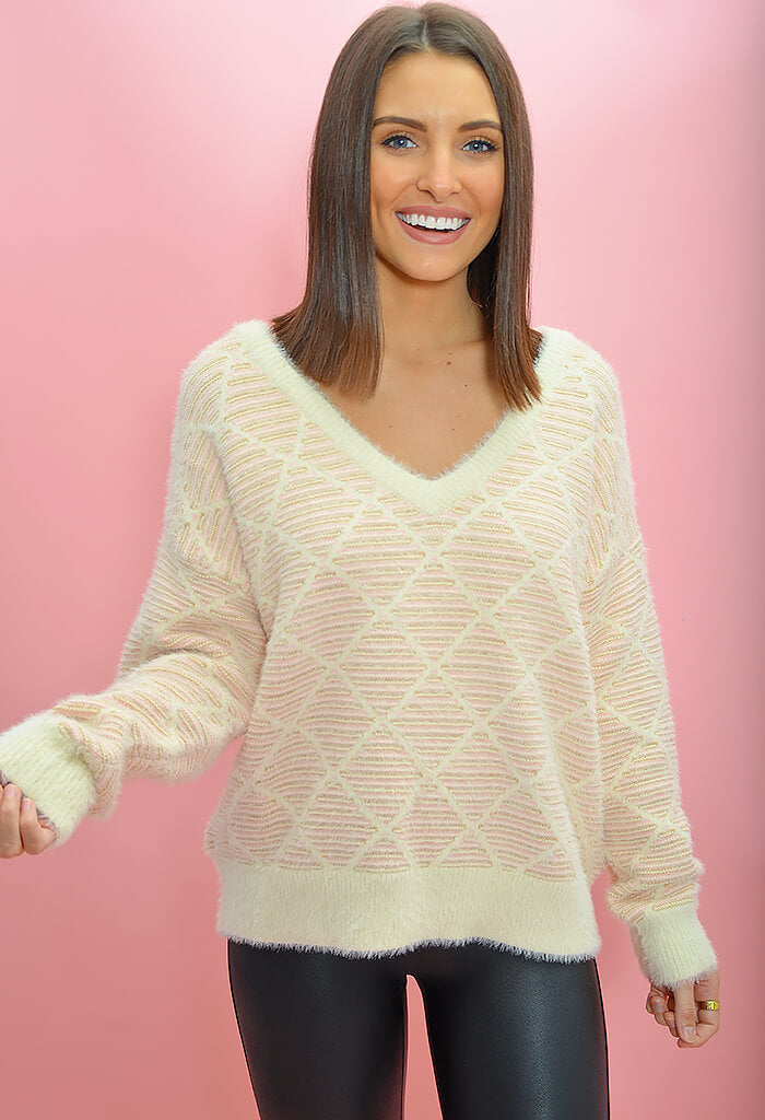 FRNCH Gracie Sweater-front