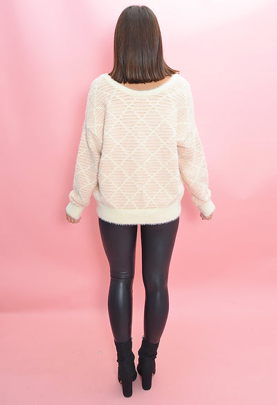 FRNCH Gracie Sweater-back