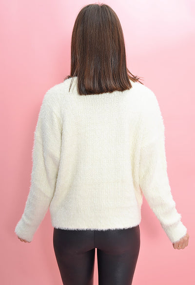 Olivaceous Pearl Sweater-back