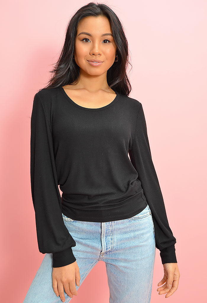 What the Bell Top - Black