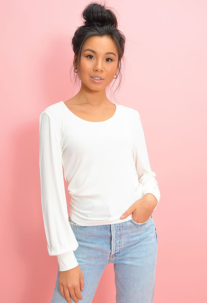 What the Bell Top - Ivory