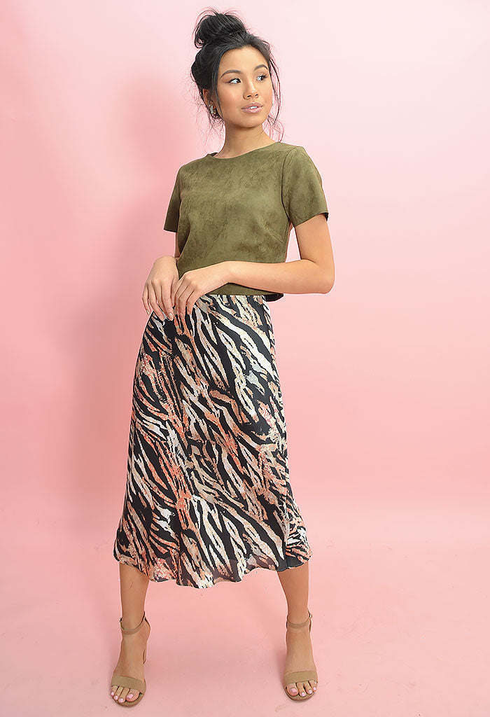 Abstract Night Skirt